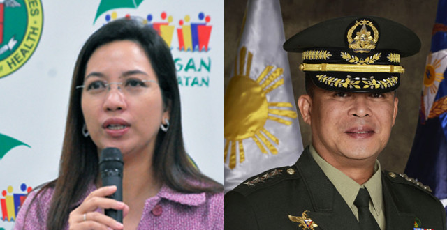Janette Garin and Gregorio Pio Catapang