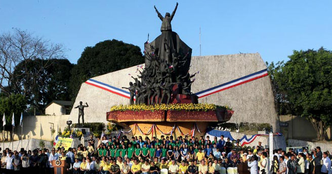EDSA People Power monument (Malacanang Photo)